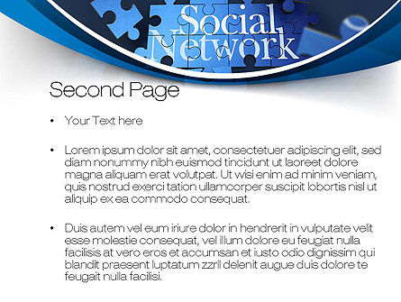 Building Social Network PowerPoint Template Slide 2