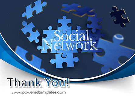 Building Social Network PowerPoint Template Slide 20