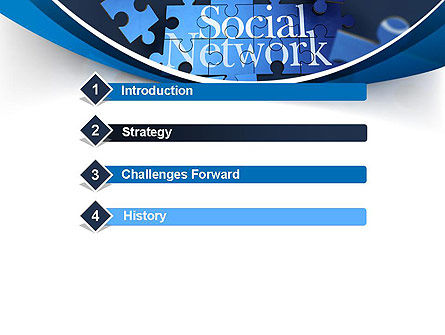 Building Social Network PowerPoint Template Slide 3