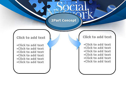 Building Social Network PowerPoint Template Slide 4