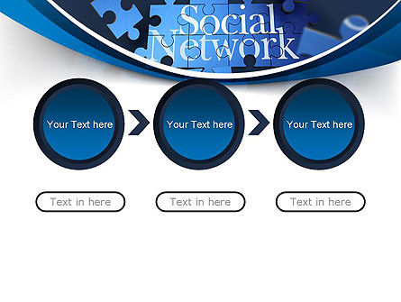 Building Social Network PowerPoint Template Slide 5