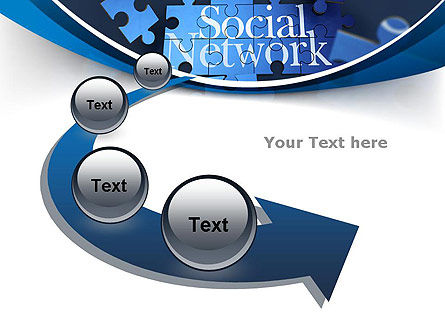 Building Social Network PowerPoint Template Slide 6