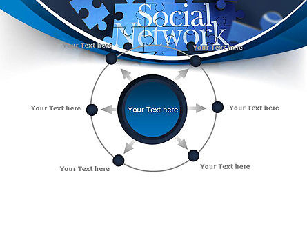 Building Social Network PowerPoint Template Slide 7
