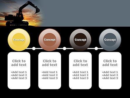 Excavating Contractor PowerPoint Template Slide 5