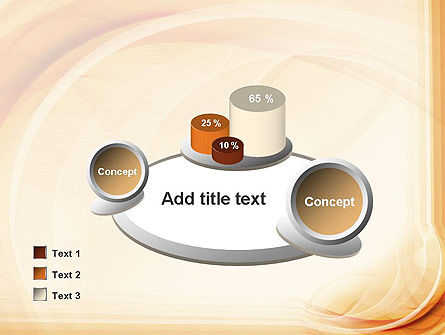 Abstraction in a Sand Color PowerPoint Template Slide 16