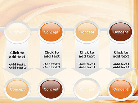 Abstraction in a Sand Color PowerPoint Template Slide 18