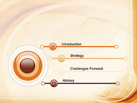 Abstraction in a Sand Color PowerPoint Template Slide 3