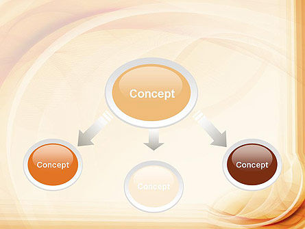 Abstraction in a Sand Color PowerPoint Template Slide 4