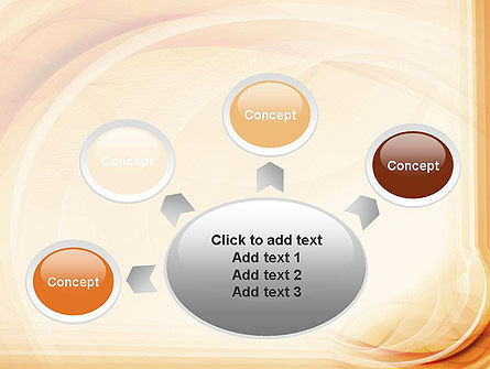 Abstraction in a Sand Color PowerPoint Template Slide 7