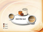 Abstraction in a Sand Color PowerPoint Template#16