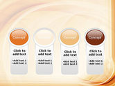 Abstraction in a Sand Color PowerPoint Template#5