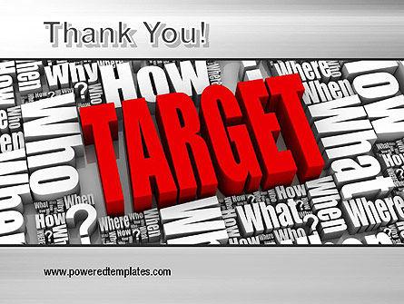 Target Market PowerPoint Template Slide 20
