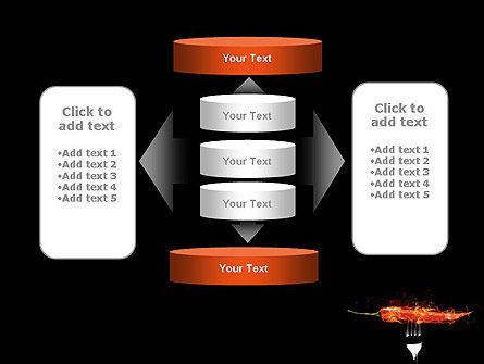 Burning Hot Chili Pepper PowerPoint Template Slide 13