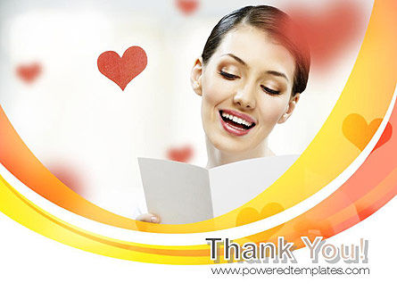 Valentine's Day Card PowerPoint Template Slide 20