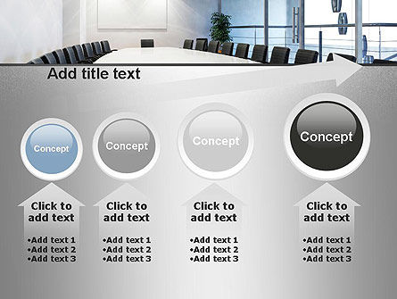 Executive Conference Room PowerPoint Template Slide 13