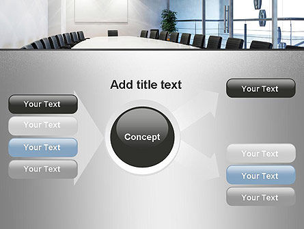 Executive Conference Room PowerPoint Template Slide 14