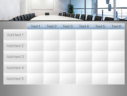 Executive Conference Room PowerPoint Template Slide 15