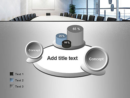 Executive Conference Room PowerPoint Template Slide 16