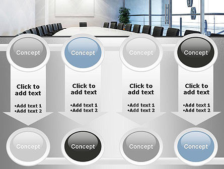 Executive Conference Room PowerPoint Template Slide 18