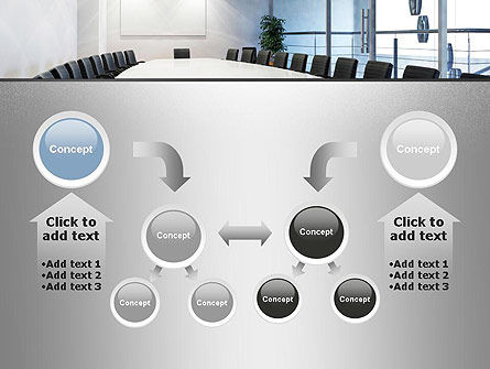 Executive Conference Room PowerPoint Template Slide 19