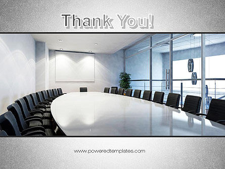 Executive Conference Room PowerPoint Template Slide 20