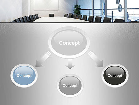 Executive Conference Room PowerPoint Template Slide 4