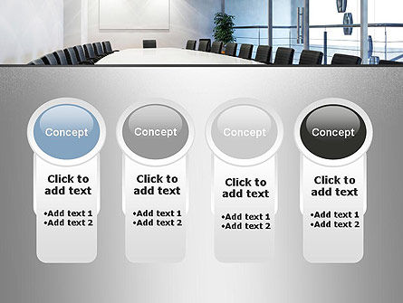 Executive Conference Room PowerPoint Template Slide 5