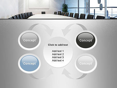Executive Conference Room PowerPoint Template Slide 6