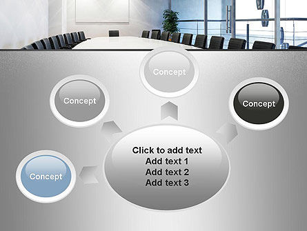 Executive Conference Room PowerPoint Template Slide 7