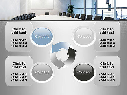 Executive Conference Room PowerPoint Template Slide 9