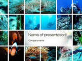 Education & Training: Scuba Diving Lessons PowerPoint Template #10693