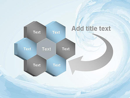 Pastel Blue Wave PowerPoint Template Slide 11