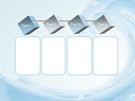 Pastel Blue Wave PowerPoint Template Slide 18