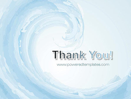 Pastel Blue Wave PowerPoint Template Slide 20