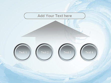 Pastel Blue Wave PowerPoint Template Slide 8