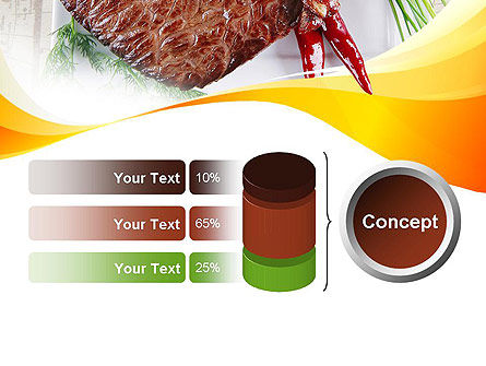 Steak PowerPoint Template Slide 11