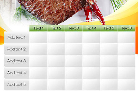 Steak PowerPoint Template Slide 15