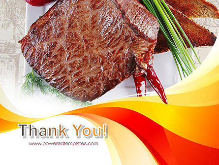 Steak PowerPoint Template Slide 20