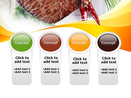 Steak PowerPoint Template Slide 5
