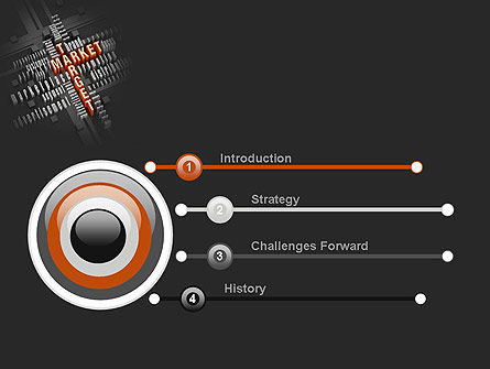 Market Target PowerPoint Template, Slide 3, 10697, Careers/Industry — PoweredTemplate.com