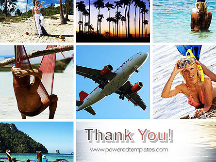 Vacation Collage PowerPoint Template Slide 20