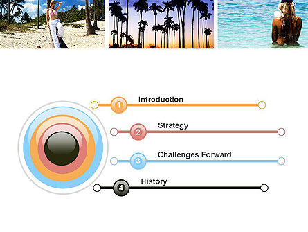 Vacation Collage PowerPoint Template Slide 3