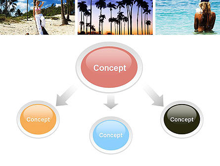 Vacation Collage PowerPoint Template, Slide 4, 10699, Careers/Industry — PoweredTemplate.com
