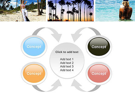 Vacation Collage PowerPoint Template Slide 6