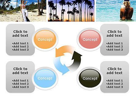 Vacation Collage PowerPoint Template Slide 9