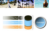 Vacation Collage PowerPoint Template#11