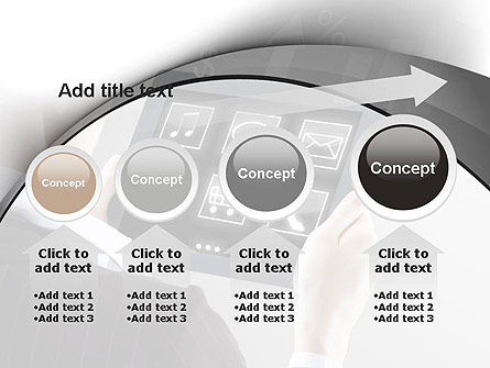 Tablet PC PowerPoint Template Slide 13