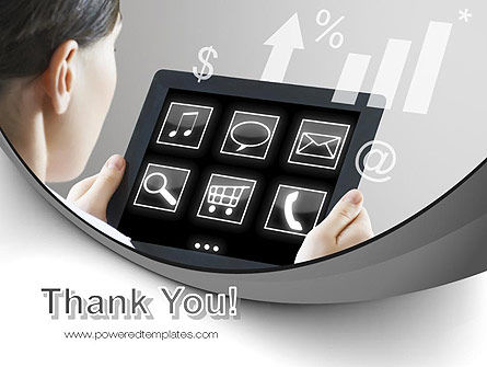 Tablet PC PowerPoint Template Slide 20
