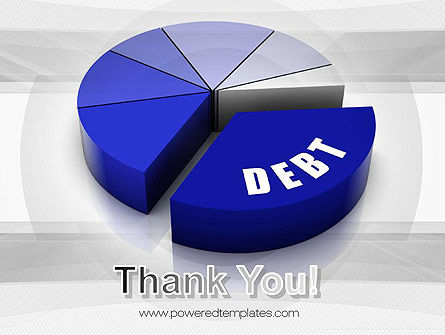 Debt Pie Chart PowerPoint Template Slide 20