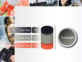Fitness Collage PowerPoint Template#11